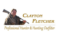 Official website for Clayton Fletcher, professional hunter and hunting outfitter.