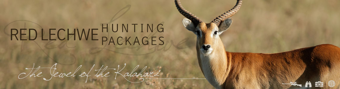 Hunting Red Lechwe with Tinahse